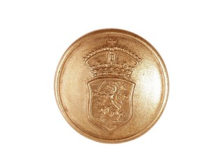 Pair of Gefreiter rank discs Hessen. Bronze.