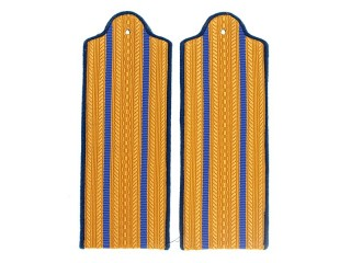 Senior Officers (Security/Internal Troops) Casual Shoulder Boards, NKVD, USSR, Replica
