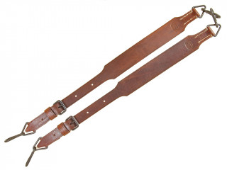 MG 34/42 Leather Suspenders, Germany, Replica