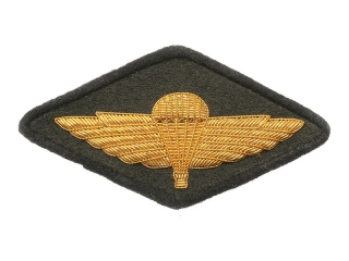 Shoulder Sleeve Insignia (Airborne Forces, Technical Service, Officer), 1947 Type, USSR, Replica