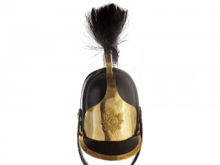 Helmet of the lower ranks of the Guard cavalry heavy cavalry, m1812 Russian Imperial 1812 Napoleonic Wars Army & Guards, replica