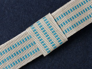 Ribbon For Parade Uniform, Air Force/Police, Moscow Victory Parade Of 1945, Russia, Replica