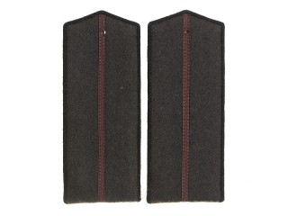 Junior Officers Engineering And Technical Forces Shoulder Boards, RKKA, USSR, Replica