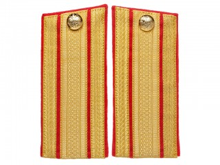 Guards RIA Infantry Staff-Officers Shoulder Boards to overcoat, 1st 2nd regiments Russia WWI