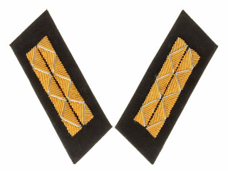 RKKA Parade Collar Insignia, Senior Officers, 1943 Type, Combat Personnel, USSR, Replica