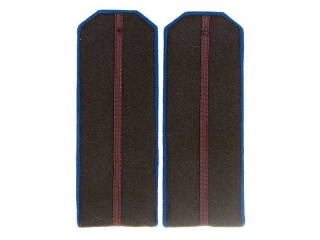 Junior Officers Engineering And Technical Forces (Security/Internal Troops) Shoulder Boards, NKVD, USSR, Replica