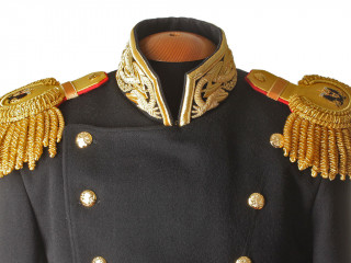 RUSSIAN IMPERIAL NAVY WWI GUARDS MODEL 1855-1917 UNIFORM