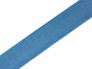 Broad ribbon of the Order of St. Andrew 2,8cm wide for Medal, Ribbon bar, silk blue order