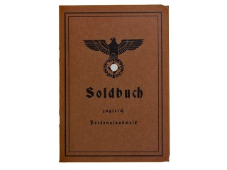 Soldbuch, Wehrmacht, Germany, Replica