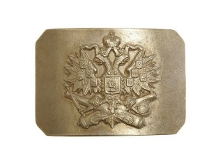 Artillery State Seal on cannons buckle, Russia