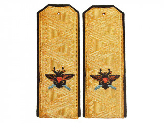 Rear Admiral officers shoulder boards straps, the Russian Imperial Navy WWI