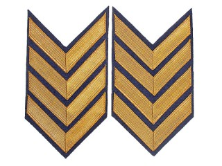 Shoulder Sleeve Insignia (Army Commander 2 Rank) 1935 Type, Armored  Troops, RKKA/NKVD, USSR, Replica
