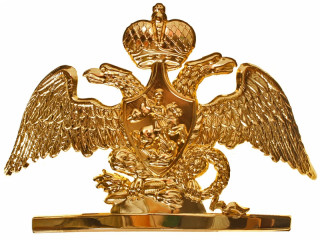 Double-headed eagle for Life-Guards officers, m1808, Russia, replica
