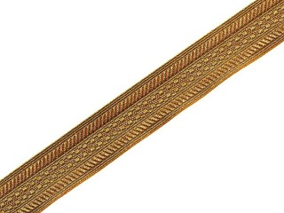 Collar Braid (Galloon), Slim Officers Type, Russia, Replica
