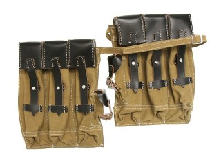 Pair MP43/MKb42H Magazine pouches,canvas