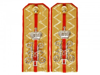Guards Cavalry Hussars Regiment shoulder boards Rittmeister Russian Imperial Guards WWI