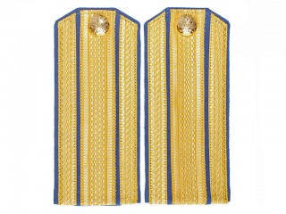 Staff Officers Shoulder Boards 3d 4th Infantry regiments Army epaulets, Guards RIA Russia WWI