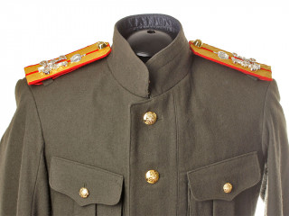 RUSSIAN IMPERIAL WWI OFFICERS FIELD UNIFORM JACKET MODEL 1915-1918