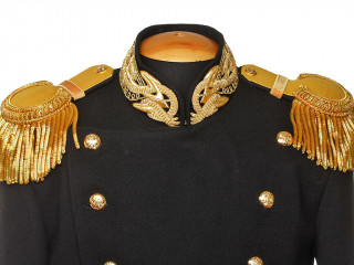 NAVY GUARDS UNIFORM JACKET TUNIC MODEL 1855-1917 IMPERIAL RUSSIAN NAVY