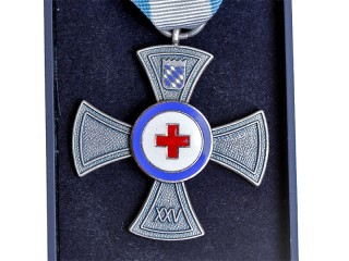 Bavarian State Association Of The Red Cross For 25 Years Service, Germany