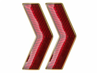 VV GUGB NKVD Collar Rank Insignia badge red with gold, USSR, replica