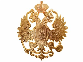 State Seal two-headed Eagle Officer