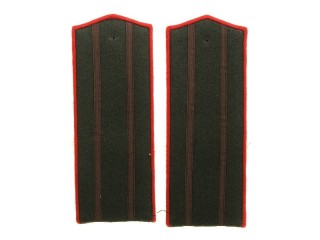 Senior Officers Engineering And Technical Forces (Armored/Artillery) Shoulder Boards, RKKA, USSR, Replica
