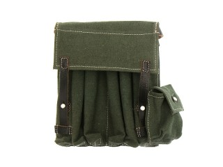 Six compartment cartridge pouch for MP38/40, tarpaulin, Germany