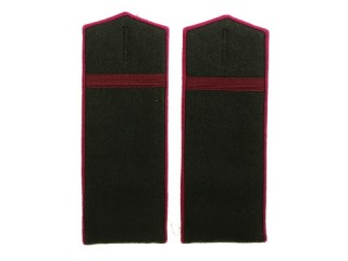 NCO Corporal field Shoulder Boards m1943, Infantry, RKKA, USSR, Replica
