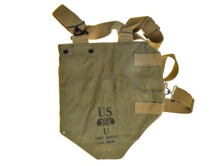 Gas Mask Bag, USA, Replica