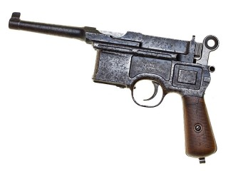 Mauser С96 Handgun, 6 Shot Large Ring Hammer, Germany