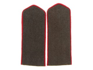 Armored Troops And Artillery Shoulder Boards, Common Soldier, RKKA, USSR, Replica