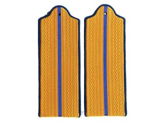 Junior Officers (Security/Internal Troops) NKVD Casual Shoulder Boards, USSR, Replica