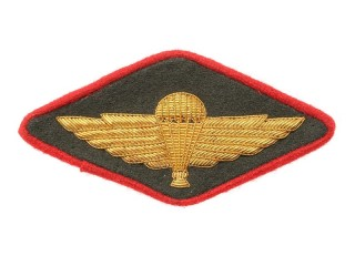 Shoulder Sleeve Insignia (Airborne Forces, Administrative Department, Officer), 1947 Type, USSR, Replica