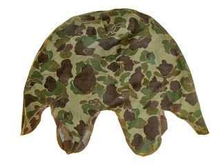 US Marine Helmet Cover, 1942 Type, USA, Replica