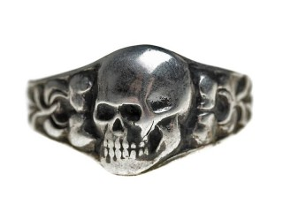 Skull Shape Ring, Germany, Replica