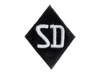 Shoulder Sleeve Insignia, SD, Allgemeine SS, Germany, Replica