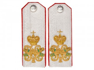 RIA Guards General Field Marshal Shoulder boards,  Life-Guards Sapper Battalion infantry cavalry sapper Russia