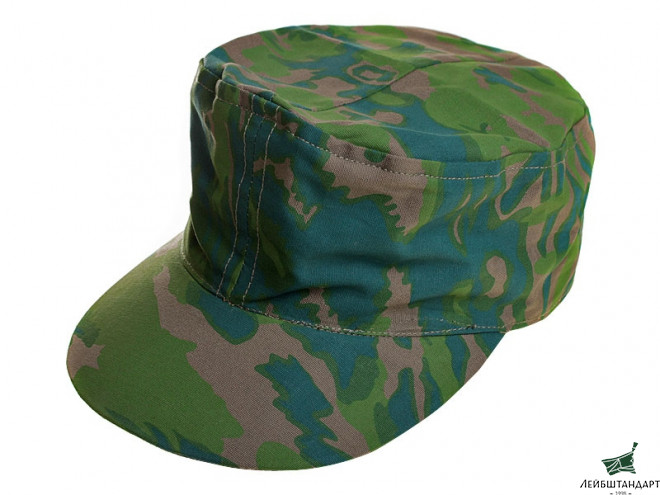 Фотография M43 Double-Sided Kepi, Palm Tree Fall And Palm Tree Spring, Waffen SS, Germany, Replica - Увеличенное изображение