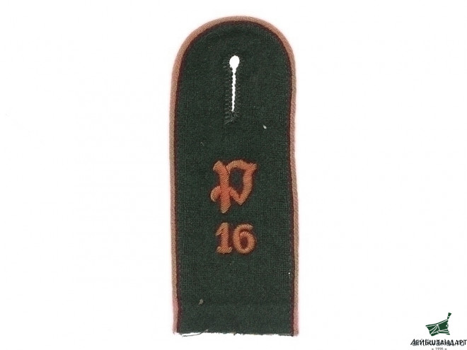 Фотография 16 Panzer Battalion Single Shoulder Board, Germany - Увеличенное изображение