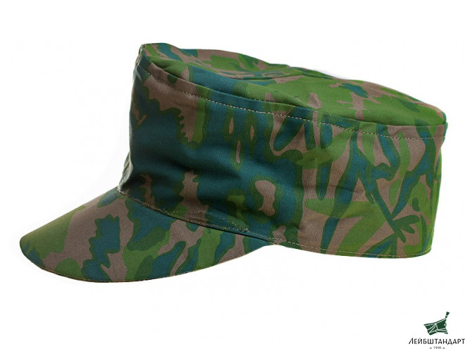 Фото M43 Double-Sided Kepi, Palm Tree Fall And Palm Tree Spring, Waffen SS, Germany, Replica - Увеличенное изображение