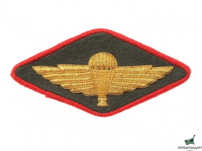 Фотография Shoulder Sleeve Insignia (Airborne Forces, Administrative Department, Officer), 1947 Type, USSR, Replica - Увеличенное изображение