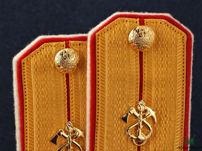 Изображение Officers captain shoulder boards Naval Odessa Battalion, Imperial Russia RIA WWI - Увеличенное изображение