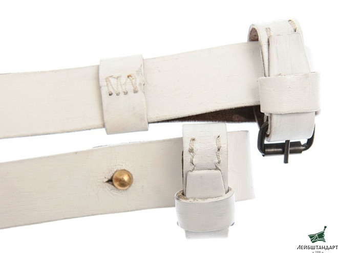 Один из видов Mossin-Nagant Rifle Belt, White, Russia, Replica - Увеличенное изображение