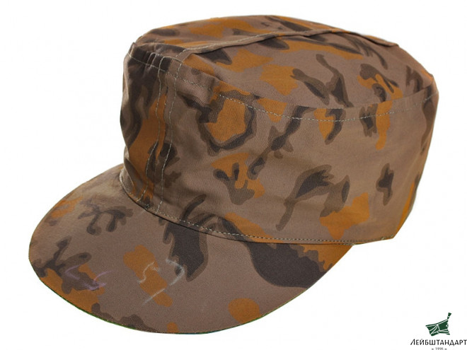 Изображение M43 Double-Sided Kepi, Palm Tree Fall And Palm Tree Spring, Waffen SS, Germany, Replica - Увеличенное изображение