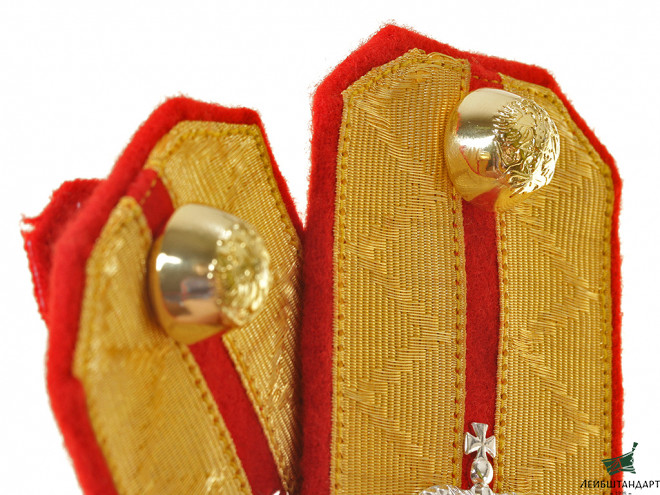 Фото Guards Cavalry Hussars Regiment shoulder boards Rittmeister Russian Imperial Guards WWI - Увеличенное изображение