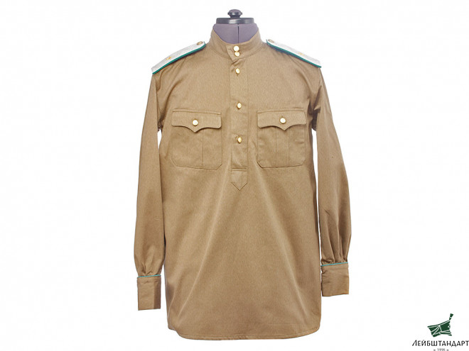 Изображение NKVD officers daily military uniform model 1943 with Pants & shoulder boards of Major General of NKVD Border Troops. WW2 USSR, copy - Увеличенное изображение