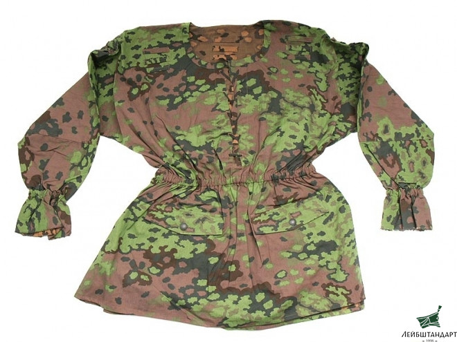 "Фотография Camouflage Blouse ""Oakleaf"", Wehrmacht, Germany, Replica - Увеличенное изображение"